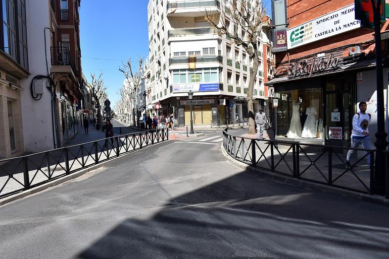 Ciuadad Real Aprobada la peatonalización de las calles Toledo, Calatrava, Feria y Caballero