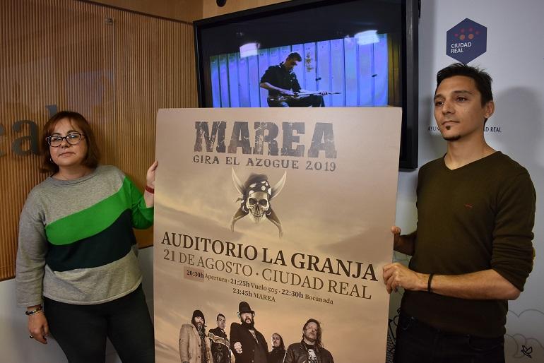 Ya están a la venta las entradas para el concierto de Marea en Ciudad Real el 21 de agosto