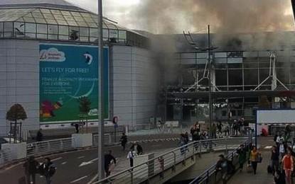 Dos explosiones en el aeropuerto de Bruselas con varios muertos y heridos