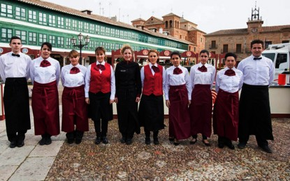 Master Chef graba uno de sus programas en Almagro dentro de las acciones de promoción del Gobierno regional por el IV Centenario de Cervantes