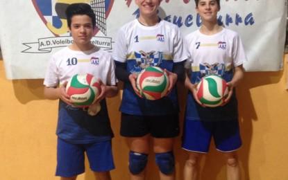 Tres Miguelturreños en el campeonato de España con la selección de Castilla la Mancha