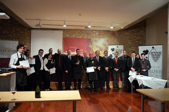Valentín Checa repite como mejor Sumiller de Castilla-La Mancha 02