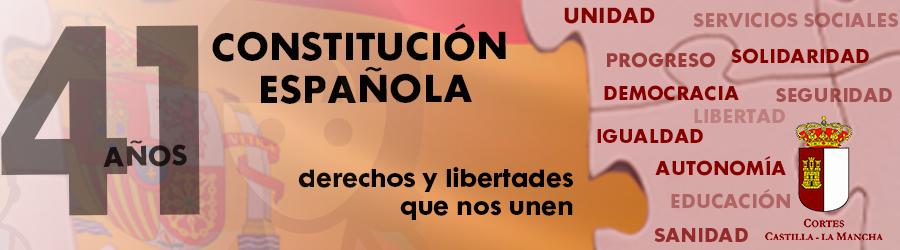 41 Años de la Constitución Española - Cortes de Castilla La Mancha