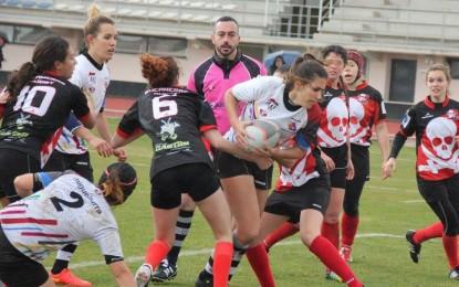 """Miguelturra: Gran éxito de las """"Arlequinas"""" en la V Jornada de la Liga de Seven Femenina"""