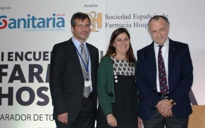 La gerente del SESCAM anima a los farmacéuticos hospitalarios a implicarse en la humanización de la asistencia sanitaria