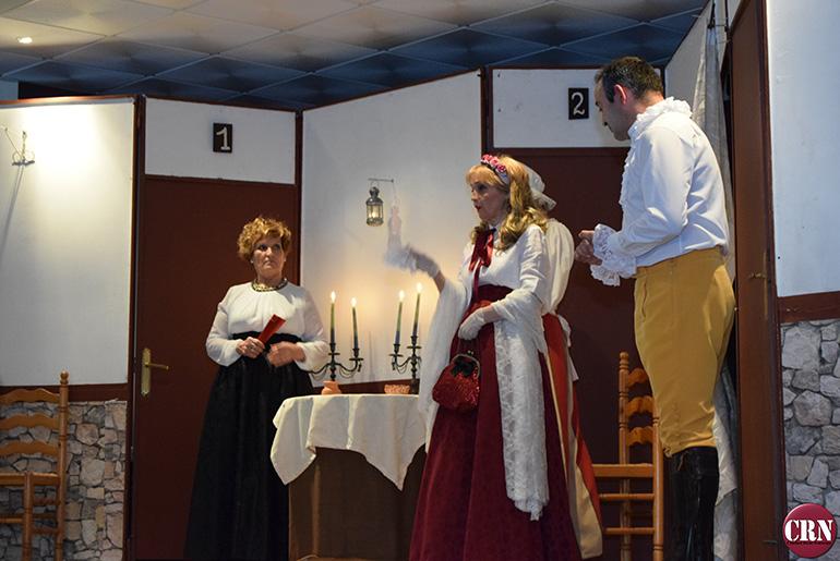 Luciana El público disfruto con la obra El sí de la niñas interpretada por Oretania Teatro-1