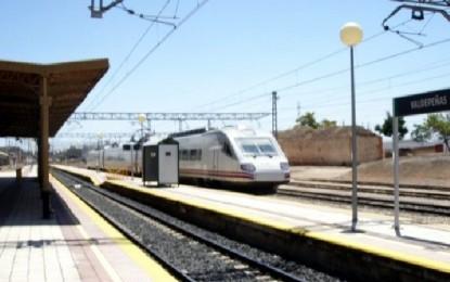 Valdepeñas: Un joven ha fallecido esta mañana al ser arrollado por el tren