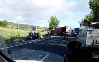 Alcolea de Calatrava: Fallece un hombre tras la colisión de un turismo con un camión en la N-430