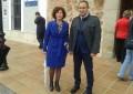 El Gobierno regional apuesta en la inauguración del video 'mapping' de Almodóvar por la promoción y desarrollo cultural de Castilla-La Mancha