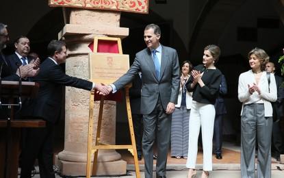 Villanueva de los Infantes: Visita de SS.MM. los Reyes a Castilla-La Mancha coincidiendo a con el IV Centenario de la muerte de Miguel de Cervantes