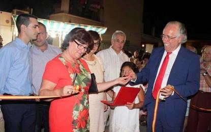 Pérez Alonso asiste a las fiestas de Viso del Marqués en representación del Gobierno de Castilla-La Mancha
