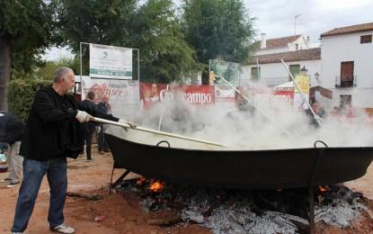 Villanueva de los Infantes: Todo preparado para que el pisto gigante alcance el Récord Guinness