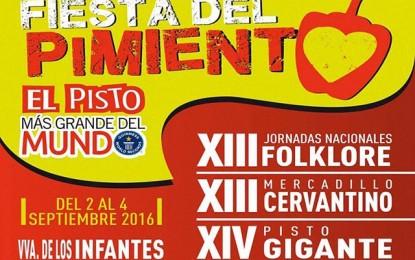 """Villanueva de los Infantes presentó sus """"XIV Fiesta del Pimiento"""""""