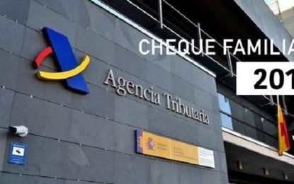 """Abierto el Plazo para solicitar la ayuda de 1.200 euros del """"Cheque familiar"""" 2018"""