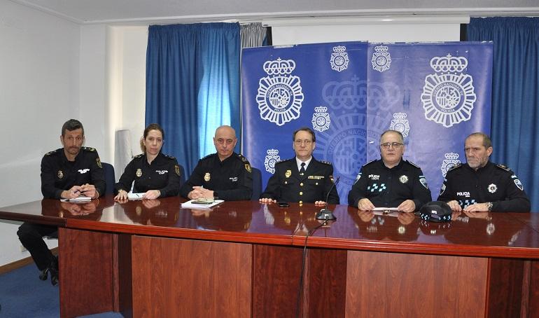La Policía Nacional y la Policía Local de Ciudad Real activan el convenio de colaboración para la protección de las víctimas de violencia de género