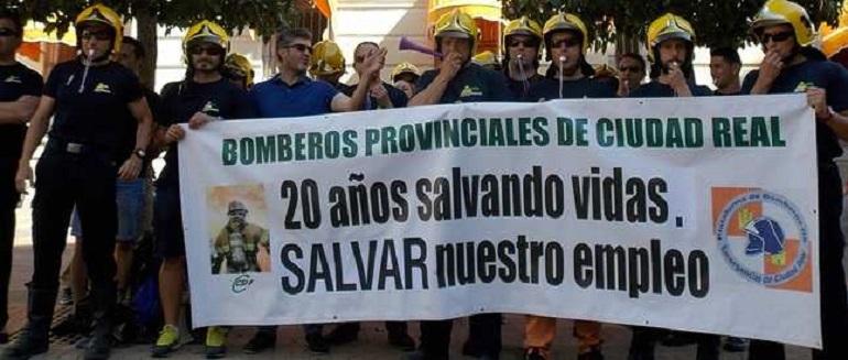 CSIF pide a la Diputación y al SCIS reubicar bomberos si hay vacantes tras incorporarse los titulares que han superado la OEP de 2015