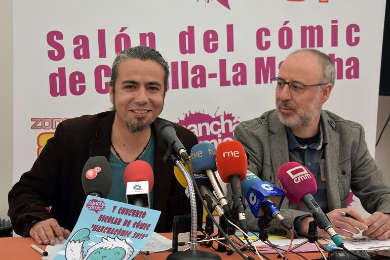 Ciudad Real Presentado en la Feria del Libro el V Salón del Cómic Manchacomic!