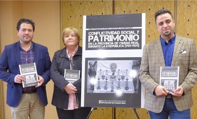 El Vicepresidente de la Diputación Provincial de Ciudad Real presentó el último libro de la Biblioteca de Autores Manchegos