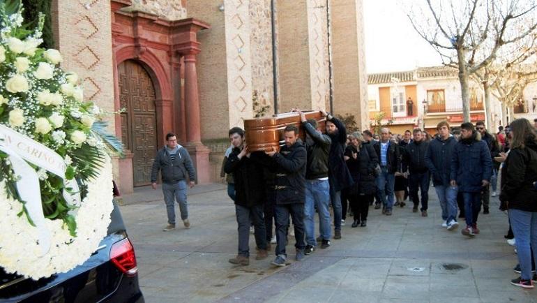Se celebra el entierro de Gonzalo Buján