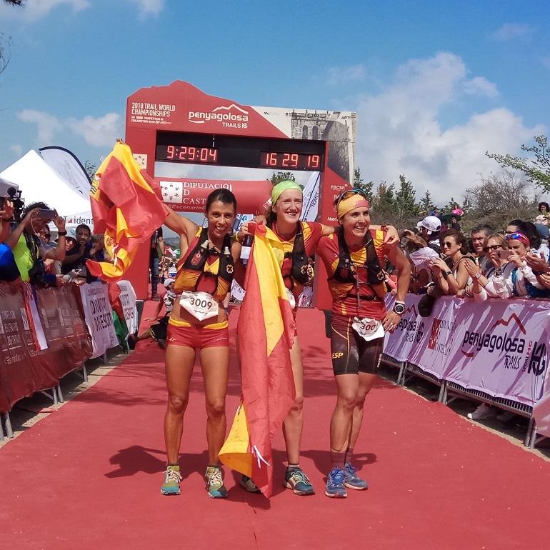 Campeonas del mundo de trail