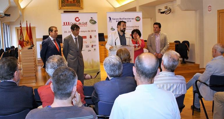 Ciudad Real Presentación del Torneo de Ciudad Real perteneciente al Seve Ballesteros PGA Tour 2018