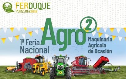 FERDUQUE contará entre sus novedades con la I Edición de la Feria de Maquinaria Agrícola de Ocasión (Agro2)