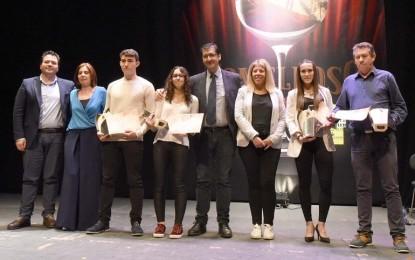 La Diputación Provincial premió a los deportistas más destacados de nuestra provincia