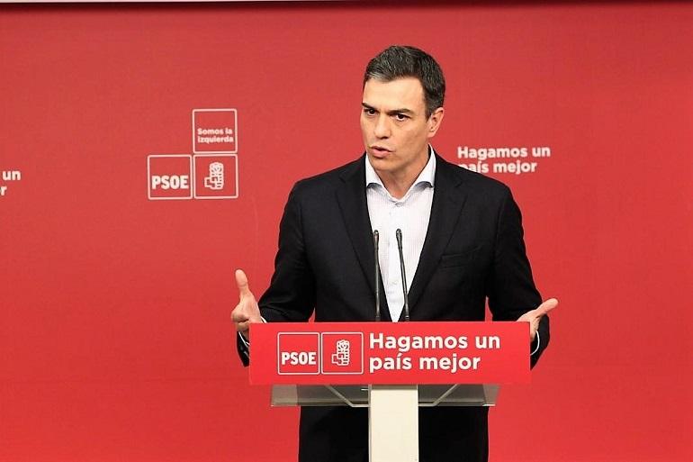 Pedro Sánchez presenta una moción de censura contra Rajoy como respuesta a la sentencia dictada contra la trama Gurtel