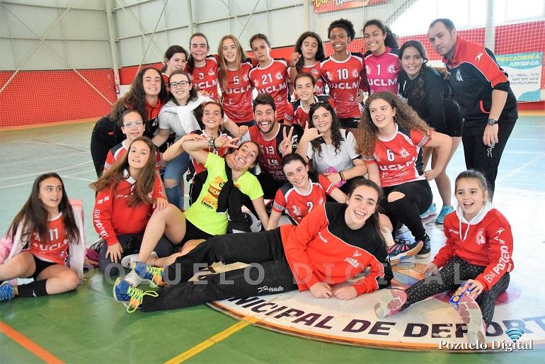 Pozuelo de Calatrava y Manzanares serán sedes de la fase final infantil femenina del mejor balonmano nacional
