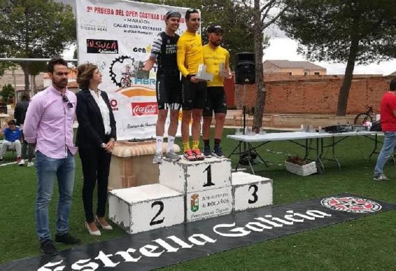 Bolaños celebró la BTT Maratón Calatrava Extreme que se llevó Antonio Ximénez al sprint