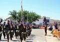Granátula de Calatrava: El BHELA I en el homenaje a la bandera en el 225 Aniversario del nacimiento del General Espartero