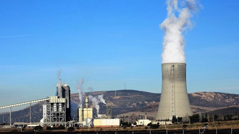 Puertollano Inminente demolición de la torre de refrigeración de Elcogas