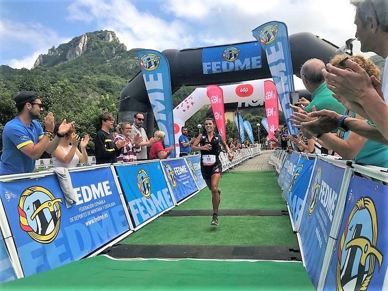 Almagro Gemma Arenas segunda en el podio del Ultra Trail Desafío Somiedo