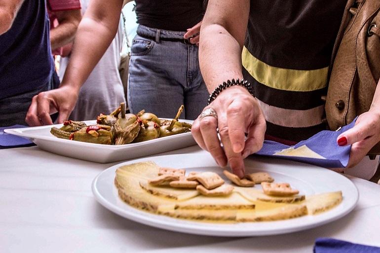 Berenjenas con queso en el Festival Internacional de Teatro Clásico de Almagro
