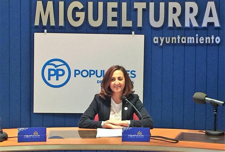 Miguelturra El PP miguelturreño denuncia que la alcaldesa, Victoria Sobrino, se salta las ordenanzas municipales con un decretazo