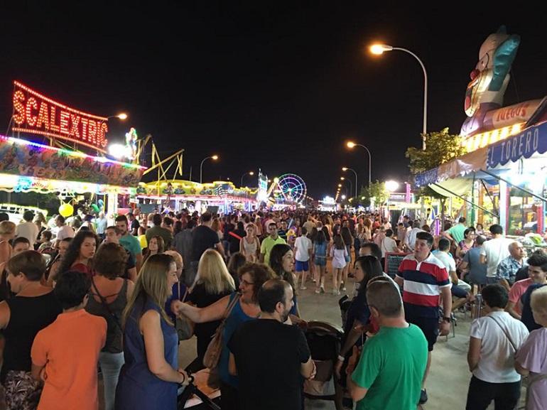 Valdepeñas Programación de las Feria y Fiestas 2018 que se celebran del 2 al 6 de agosto