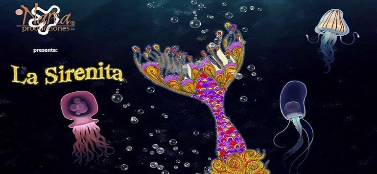 Valenzuela de Calatrava disfrutará del espectáculo musical-acuático de La Sirenita y un príncipe de cuento el próximo día 6 de agosto
