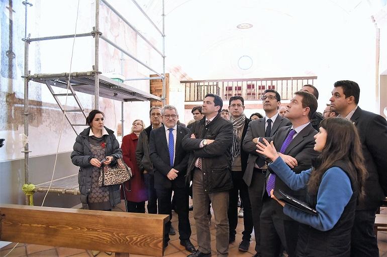 Bolaños recibe una subvencion de la Junta para la restauración de la ermita de San Cosme y San Damian