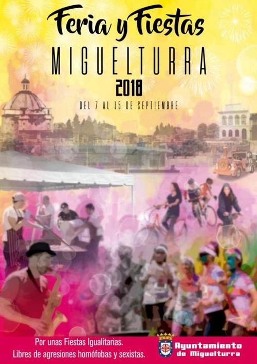 Cartel Feria y Fiestas Miguelturra 2018