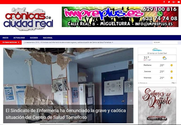 Crónicas de Ciudad Real, la nueva web de sucesos provincial