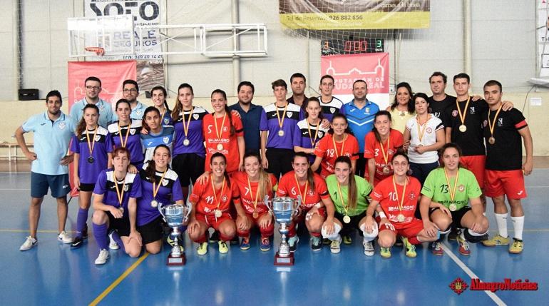 El Almagro FSF disputa esta tarde el Trofeo Diputación de Fútbol Sala Femenino del cual es el vigente campeón