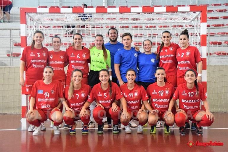 El Almagro FSF lidera ya la tabla de clasificación tras vencer este fin de semana al Teldeportivo por 4-1