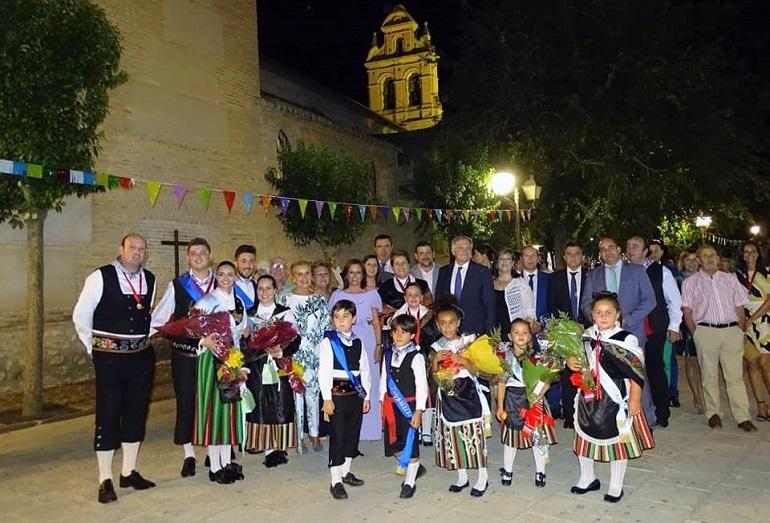 Inauguración de las fiestas patronales de Torralba de Calatrava