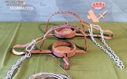 Investigados por la Guardia Civil tres vecinos de Moral de Calatrava por colocar varios lazos y cepos para la caza furtiva