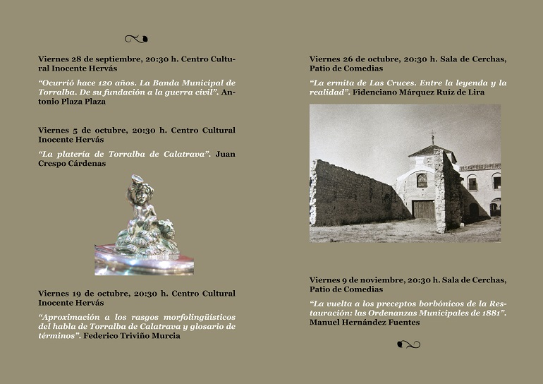 Jornadas Monograficas de Torralba de Calatrava