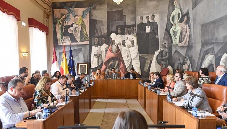 La Diputación Provincial cede gratuitamente el Hospital del Carmen a la Junta de Comunidades que destinará a edificio único de servicios públicos