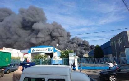 Manzanares: La Jueza decreta prisión provisional para los ocupantes de la nave que ardió este sábado en el poligono industrial