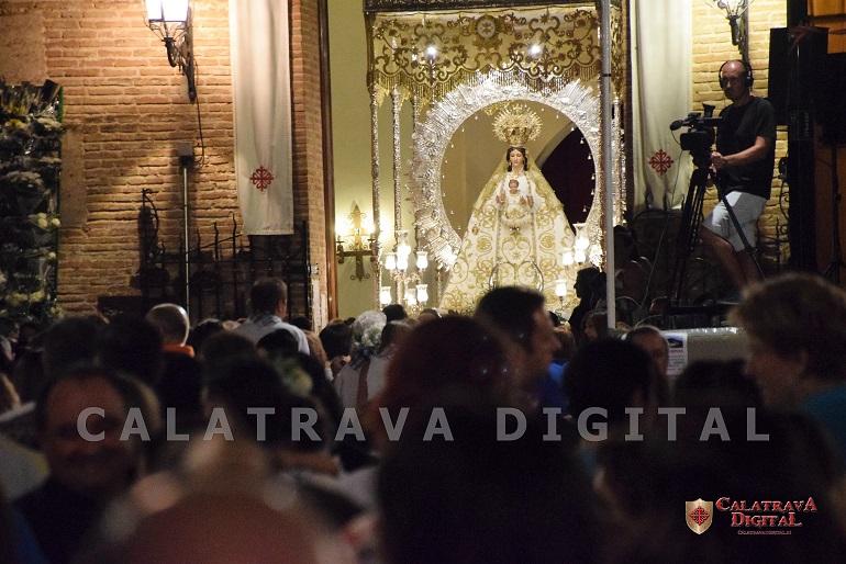 Miguelturra rindió culto a la Virgen de la Estrella con la tradicional Ofrenda Floral