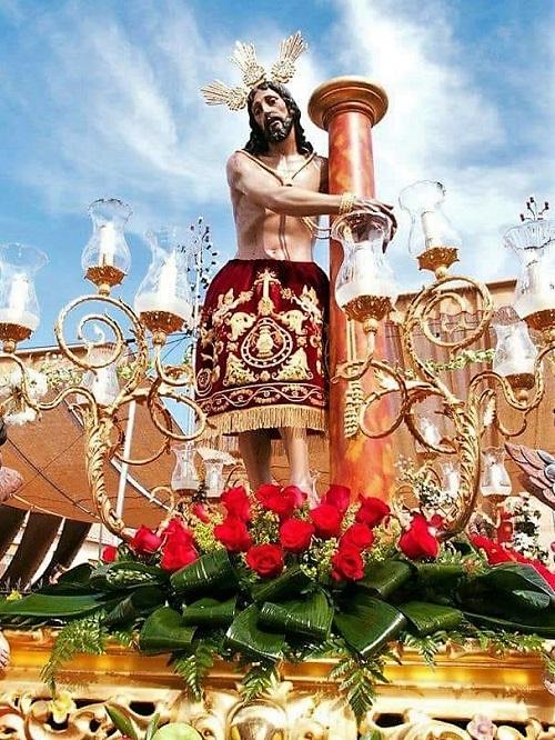 Procesion del Cristo de la Columna de Bolaños