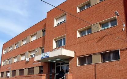 """Se derrumba el techo de la consulta de enfermería pedriática del Centro de Salud """"Virgen de las Viñas"""" de Tomelloso"""